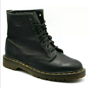 Dr. Martens Smooth 8 Eyelet Boots Leather High Top